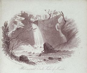 Melincourt fall, vale of Neath