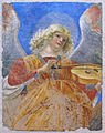 Melozzo da forlì, angeli musicanti, 1480 ca., da ss. apostoli, 03.JPG