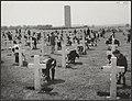 Memorial Day op het Amerikaanse soldatenkerkhof te Margraten in Zuid-Limburg. Hi, Bestanddeelnr 047-0692.jpg