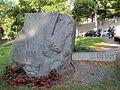 Memorial boulder to Estonian independence in Tallinn.JPG