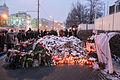 Memorial to November 2015 Paris attacks at French embassy in Moscow 15.jpg