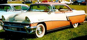 Mercury Montclair - Image: Mercury Montclair 1956b