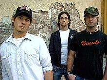 Jimmy McGlothlin, Corey Lane und Jake Beard vom Mercy Drive