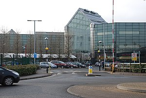 Metropolitan Borough of Dudley - The Merry Hill Shopping Centre is one of the largest shopping centres in the UK