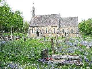 Merthyr Mawr village in the United Kingdom