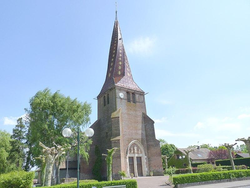 Church of Mervans (Saône-et-Loire, Burgundy, France)