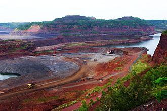 Mesabi Range - Hull–Rust–Mahoning Open Pit Iron Mine, Mesabi Range, 2010