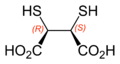 Meso-2,3-dimercaptosuccinic-acid-2D-skeletal-B-configurations-labelled.png