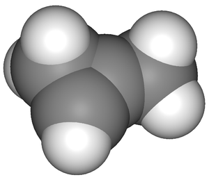 1-Methylcyclopropene - Image: Methylcyclopropene 3D