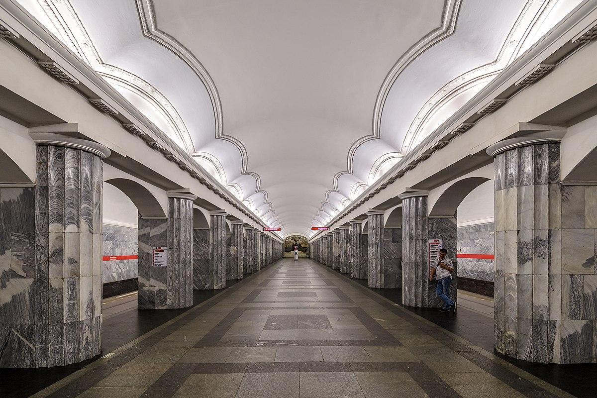 Baltiyskaya  Saint Petersburg Metro