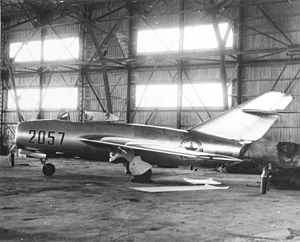 MiG Alley - MiG-15 delivered by a defecting North Korean pilot to the US Air Force.