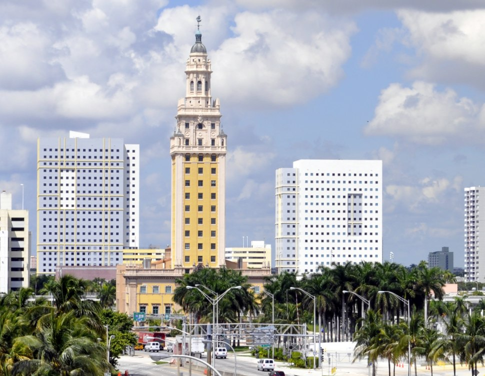 Miami Freedom Tower by Tom Schaefer