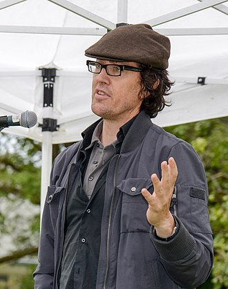 Michael Winter (writer) - Winter at the Eden Mills Writers' Festival in 2013
