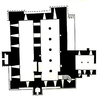 Middleham Castle - Middleham Castle plan