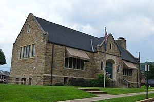 Midland, Pennsylvania - Carnegie library
