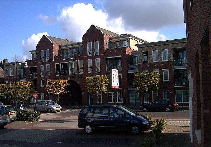 File:Mierlo-Hout Centrum Hofstad - panoramio.jpg