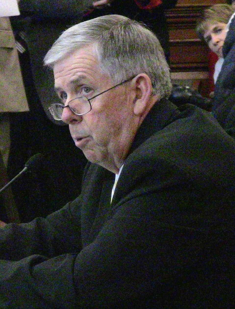 Mike Parson Missouri Politician (cropped)