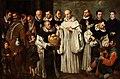 Milagro de San Bernardo, de Alejandro de Loarte (Museo del Prado).jpg