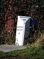 Milepost, Steanbow - geograph.org.uk - 1704324.jpg
