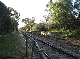 Millswood railway station - Image: Millswood North b Aug 08
