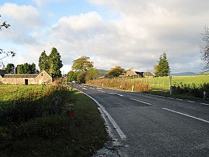 Abercairny - Milton of Abercairny at A85 road