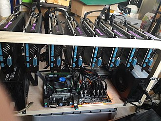 Bitcoin - Early bitcoin miners used GPUs for mining, as they were better suited to the proof-of-work algorithm than CPUs.