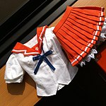 Mirai Suenaga's summer school uniform 20120529a.jpg