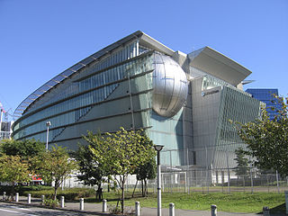 Miraikan Science and technology museum in Odaiba, Tokyo, Japan