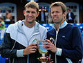 Mirnyi and Nestor (Aegon Championships - Queen's 2012 Doubles champions).jpg