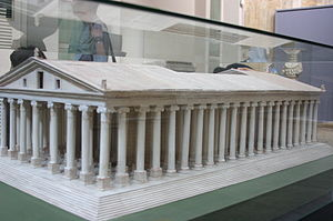 Chersiphron - Model of the Temple of Artemis at Ephesus