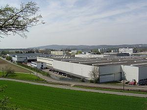 Möhlin - Möhlin industrial park