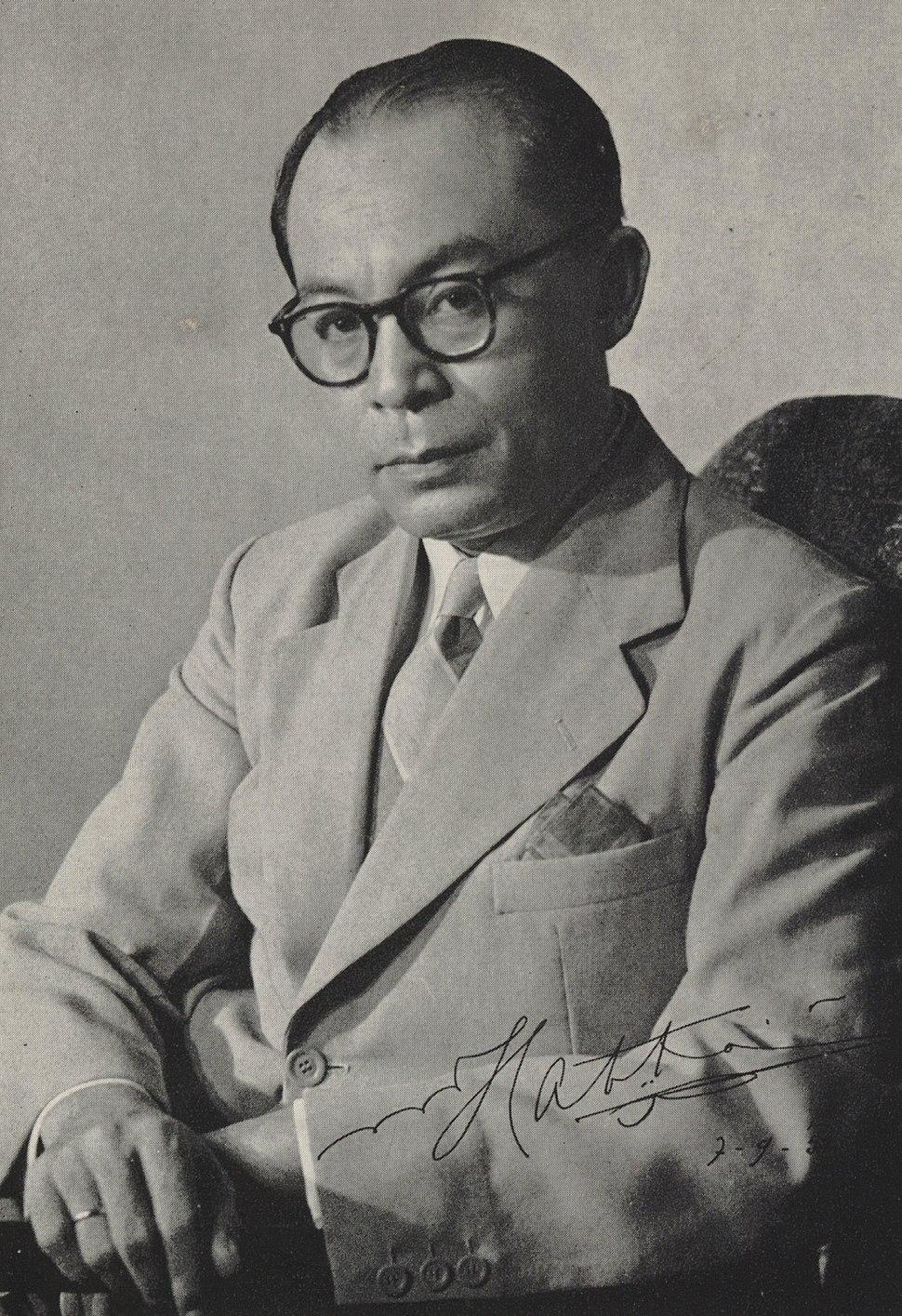 Mohammad Hatta 1950