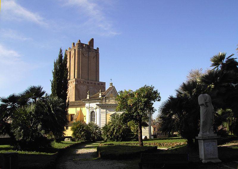 Monti - Torre delle Milizie da Villa Aldobrandini 1402.JPG
