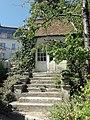 Montmorency (95), musée Jean-Jacques Rousseau, le Donjon (cabinet de travail au jardin).JPG