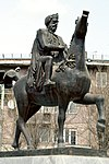Monument knight in Gyumri.jpg