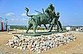 Monumento em Homenagem aos Forcados - Amieira - Portugal (4627691842).jpg