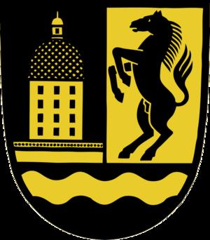 Moritzburg, Saxony - Image: Moritzburg Wappen