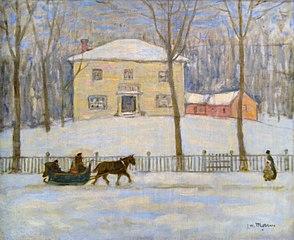 La Vieille Maison Holton à Montréal