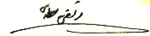 Morteza Motahari sign.png