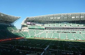 Mosaic Stadium - Image: Mosaic Stadium Interior