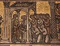 Mosaici del battistero di firenze, storie di giuseppe, 1250-1330 ca., 14 giuseppe si riconcilia coi fratelli, gaddo gaddi o maestro giottesco.JPG