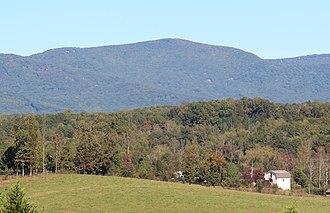 Mount Oglethorpe - Mount Oglethorpe in October