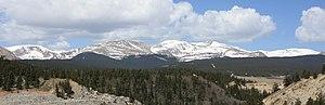 Mount Sherman - Image: Mount Sherman and Mosquito Range