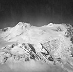 Mount Spurr, mountain glacier with icefall and bergschrund, August 26, 1969 (GLACIERS 6670).jpg