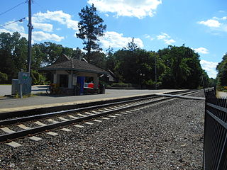 Mountain Lakes station train station in Mountain Lakes, New Jersey