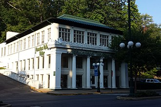 Central Avenue Historic District (Hot Springs, Arkansas) - Image: Mountain Valley Water headquarters