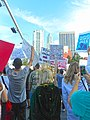 Moveon.org Anti Trump Family Separation Protests - Miami Dade College, Miami Florida 08.jpg