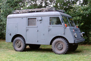 Mowag - Mowag military signals carrier (radio truck) from 1957.