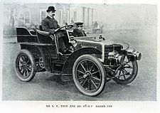 Mr S. F. Edge and his 16HP Napier Car 6067362615.jpg