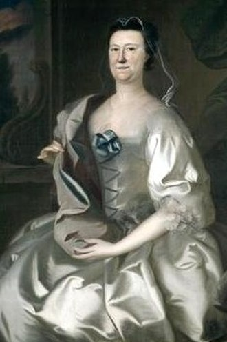 Joseph Blackburn (painter) - Image: Mrs Theodore Atkinson (Hannah Wentworth) 1760 by Joseph Blackburn